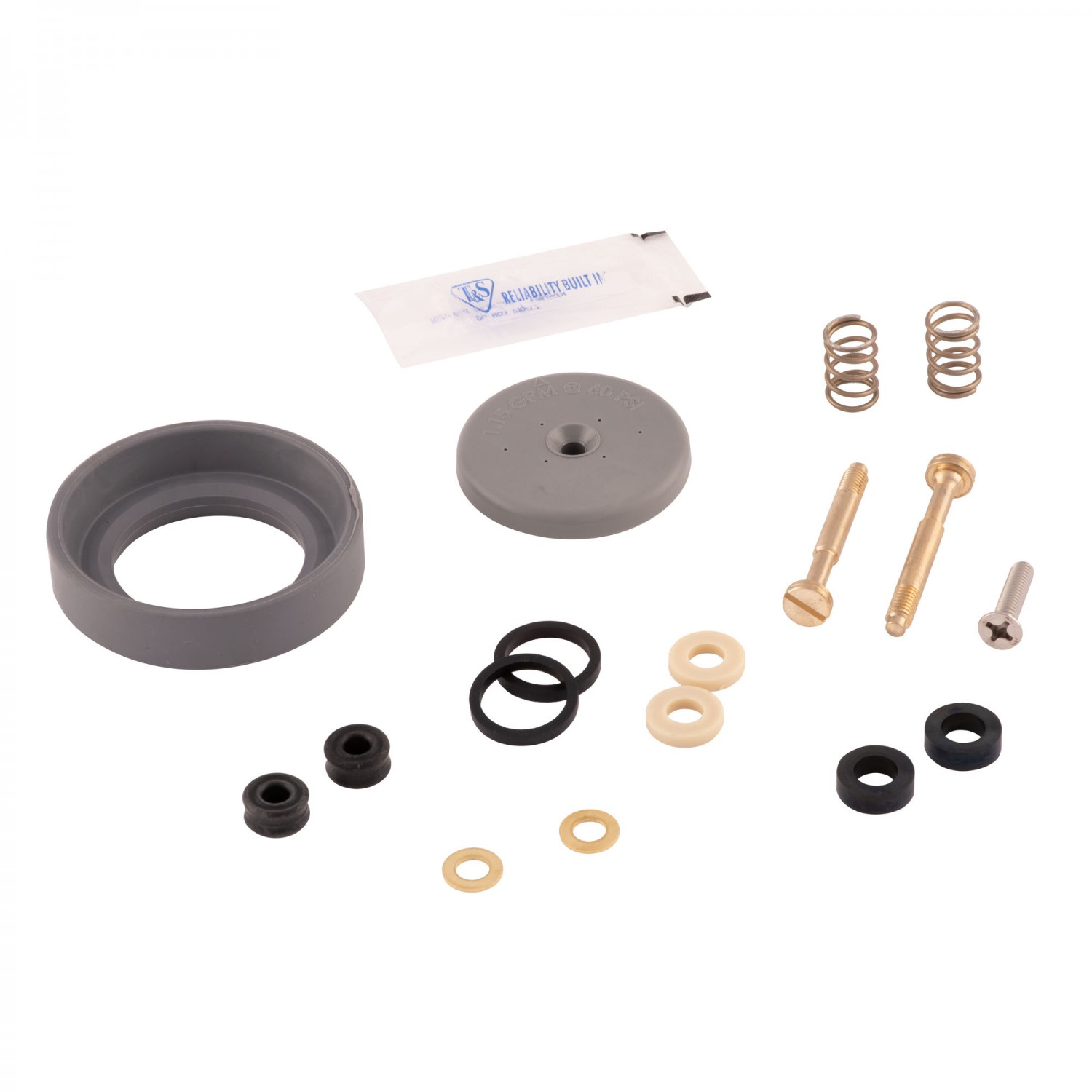 153-B10K - T&S Brass Parts Kit for B-0107 Spray Valves (Gray) B-10K