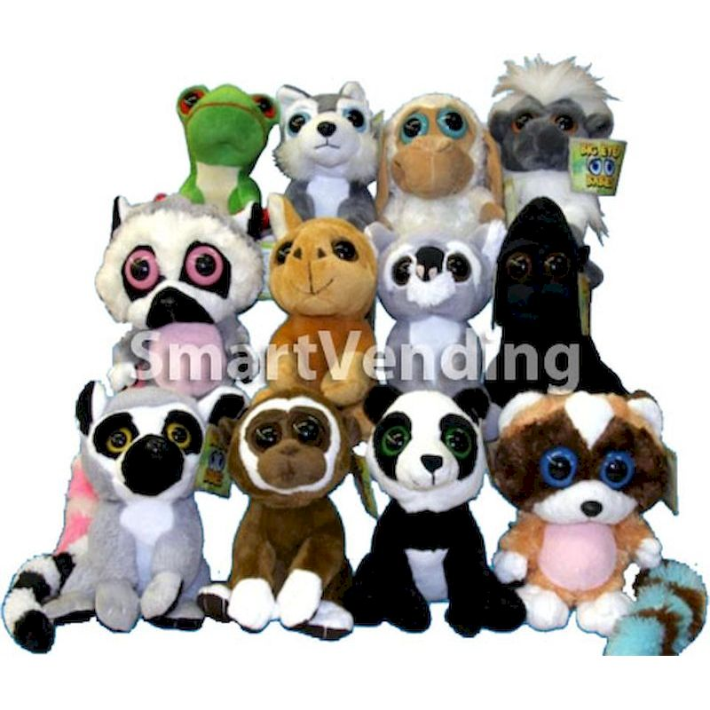 50-BEBPL8-60 - Big Eyed Babies 8 inch Plush (60 ct.)