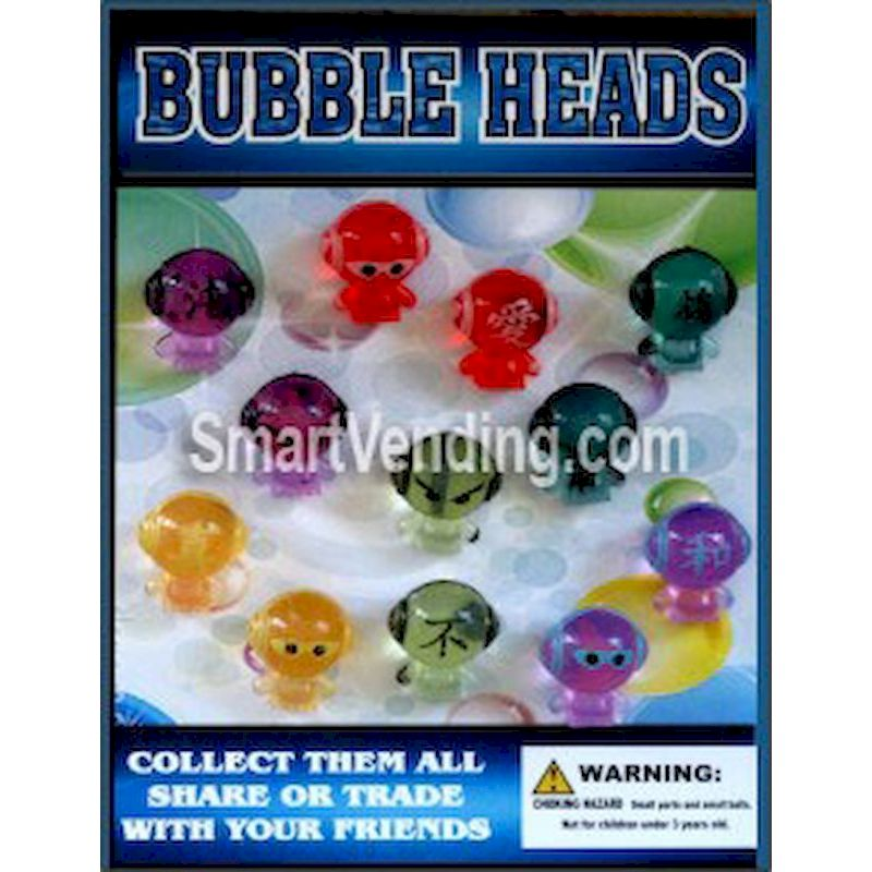 30-BUHFC1 - Bubble Heads Figures in 1.1 inch Capsules (250 ct.)