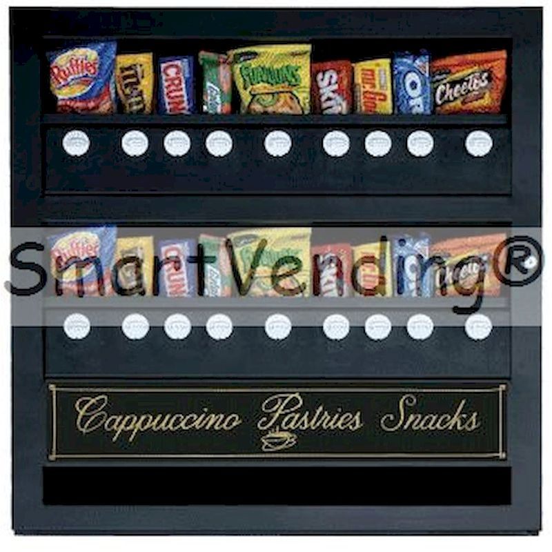 CA18 - 18 Select Snack Vendor - Mechanical Coin Operation
