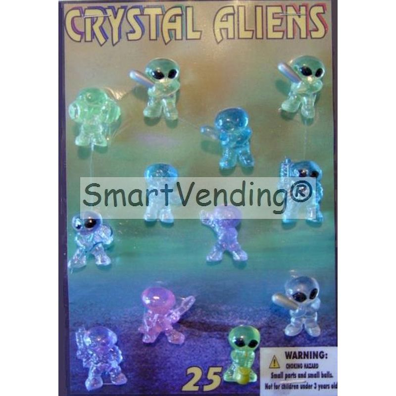 CRALC1 - Crystal Aliens in 1.1'' Capsules (250 ct.)