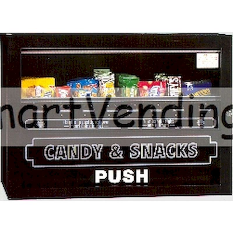 CT-150 - Heavy Duty 8 Select Snack Vendor - Mechanical Coin Operation