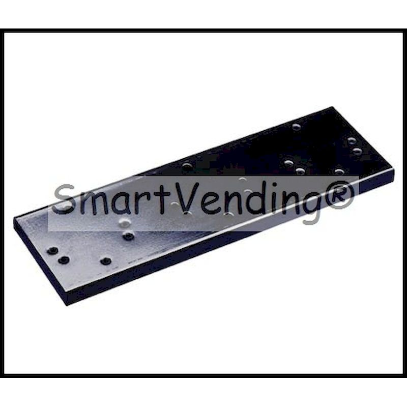LM-2B - 2 Machine Double Bracket  - Black Painted Steel
