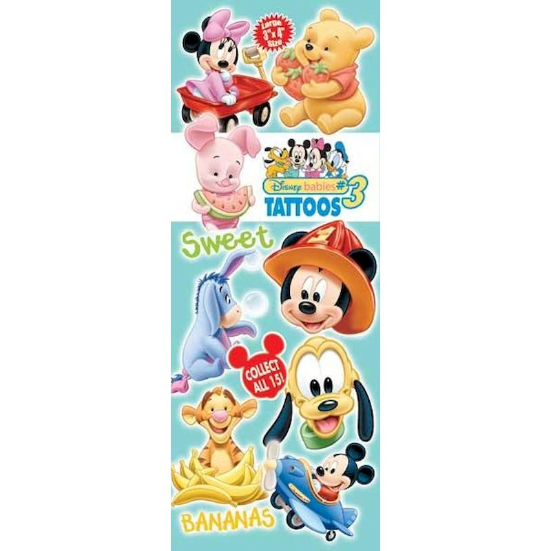 DDBT3 - Display for Disney Babies Tattoos #3