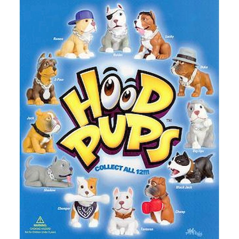 DHPFITC2 - Tomy Style Vertical Hood Pups Display Card