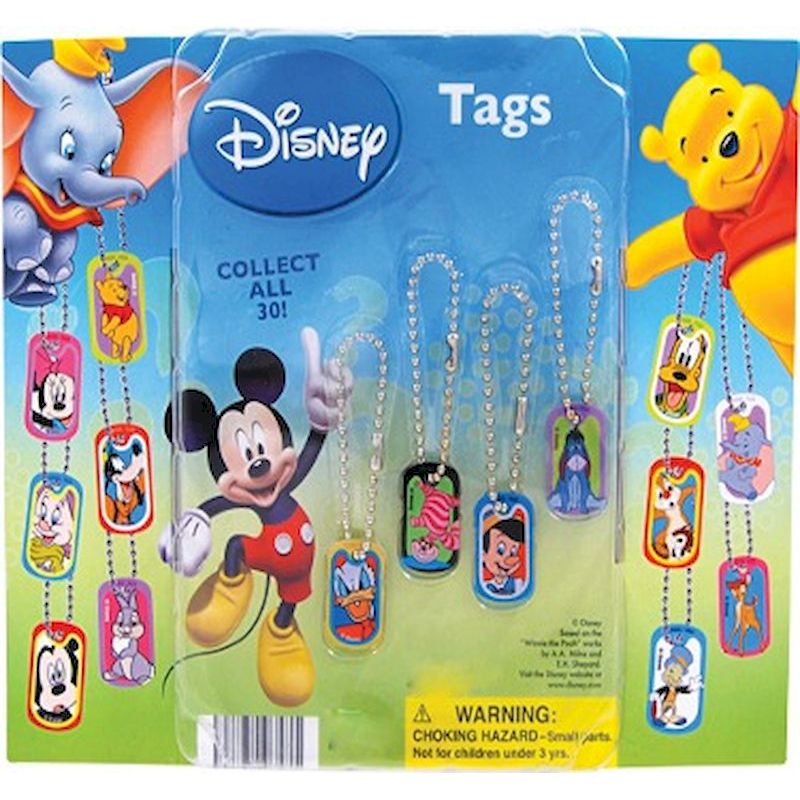 30-DISTGC2 - Disney Tags in 2 inch Capsules (250 ct.)