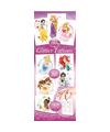 40-DPRGT3 - Disney Princess Glitter Tattoos Series 3 in folders (300 ct.) with Display Card