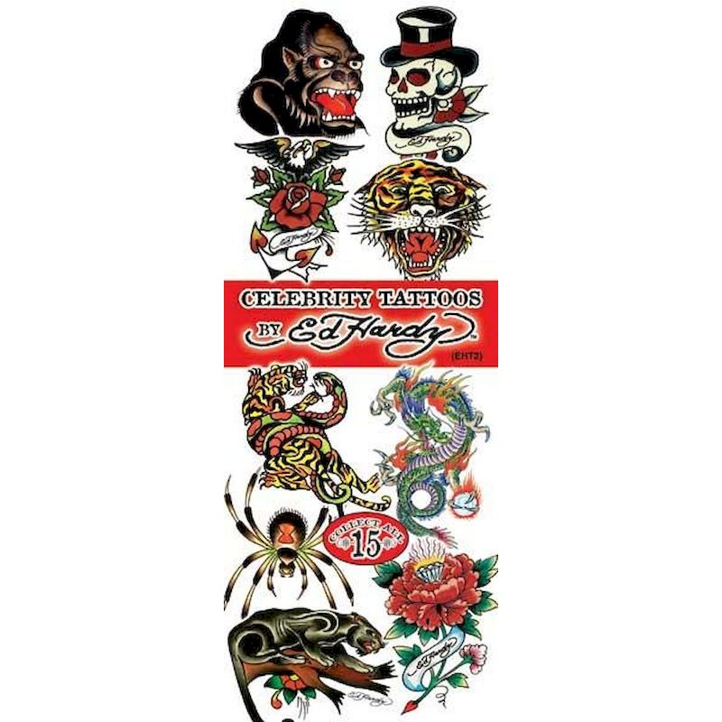 DEHTA2 - Display for Ed Hardy Tattoos #2