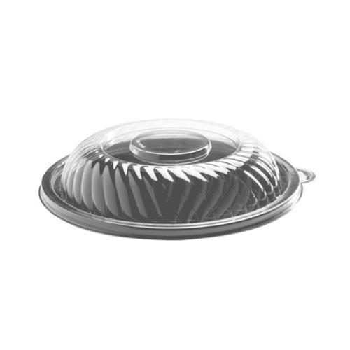 """EMI PrepServe® Dome PET Lid for 10"""" Round PET Bowl EMI-PTB10L - 25ct"""