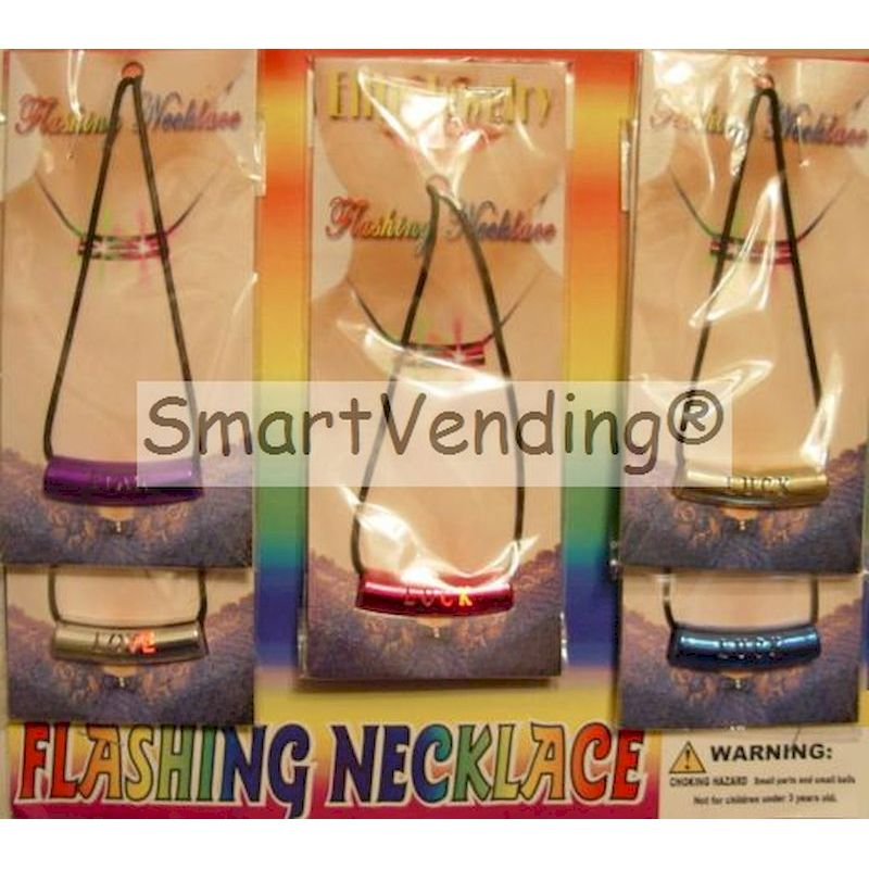 FLNEC2 - Flashing Necklaces in 2'' Capsules (250 ct.)