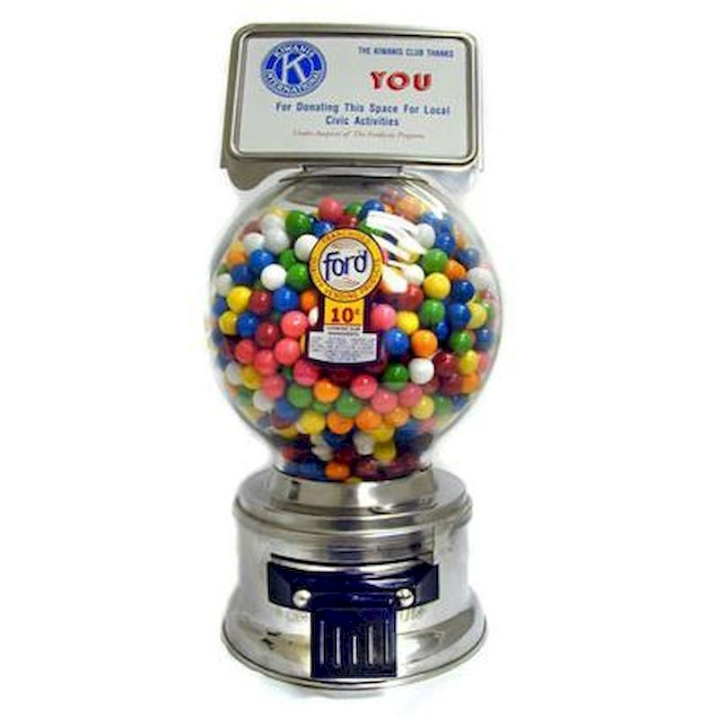 FORD10 - Authentic AntiqueFord Gumball Machine