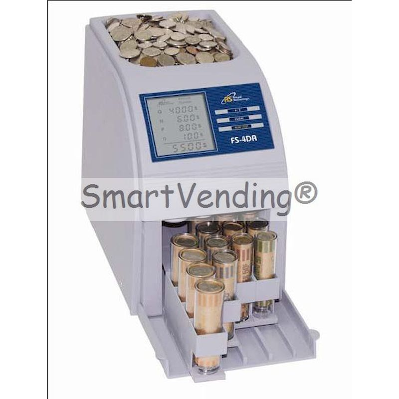 FS-4DA - FAST SORT Automatic Digital Coin Counts/Sorts FREE SHIPPING
