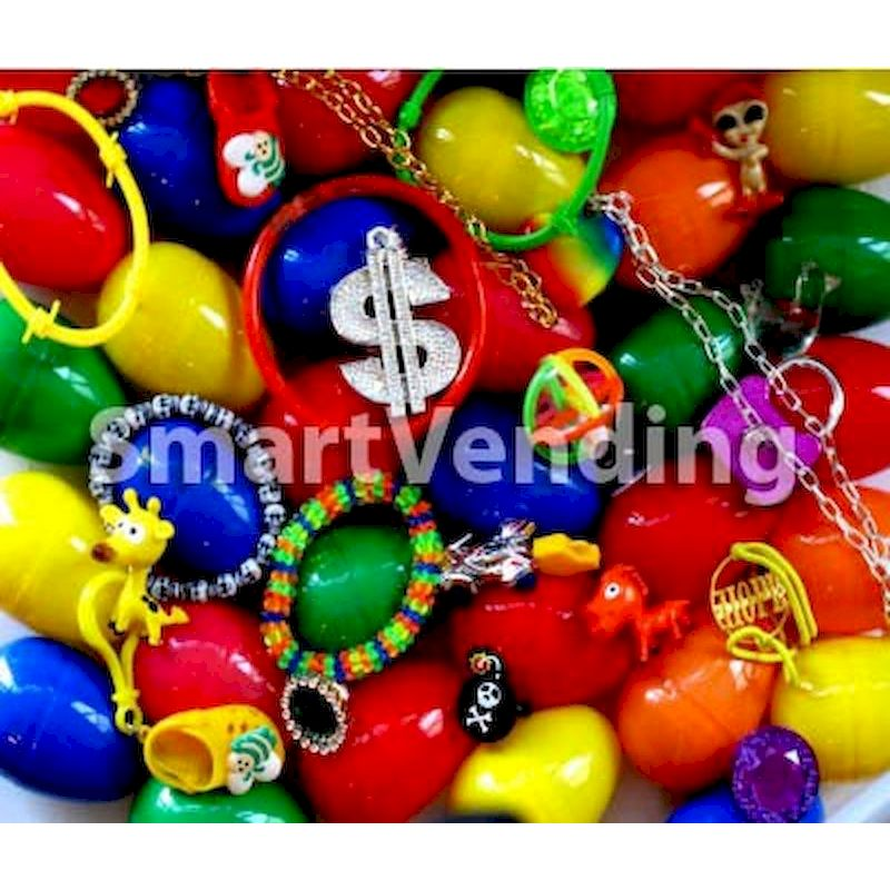 30-EGTYMXE2 - Toy Filled Eggs Mix 2.38 inch (300 ct.)