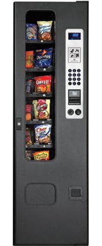 GF-12 - Perfect Break Systems 12 Selection Glass Front Snack Vending Machine