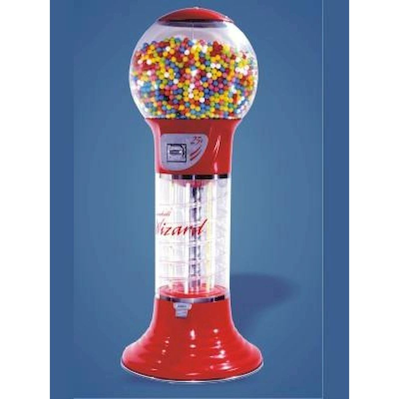 "WIZ5-6 - 5� 6"" Giant Gumball Wizard Spiral"