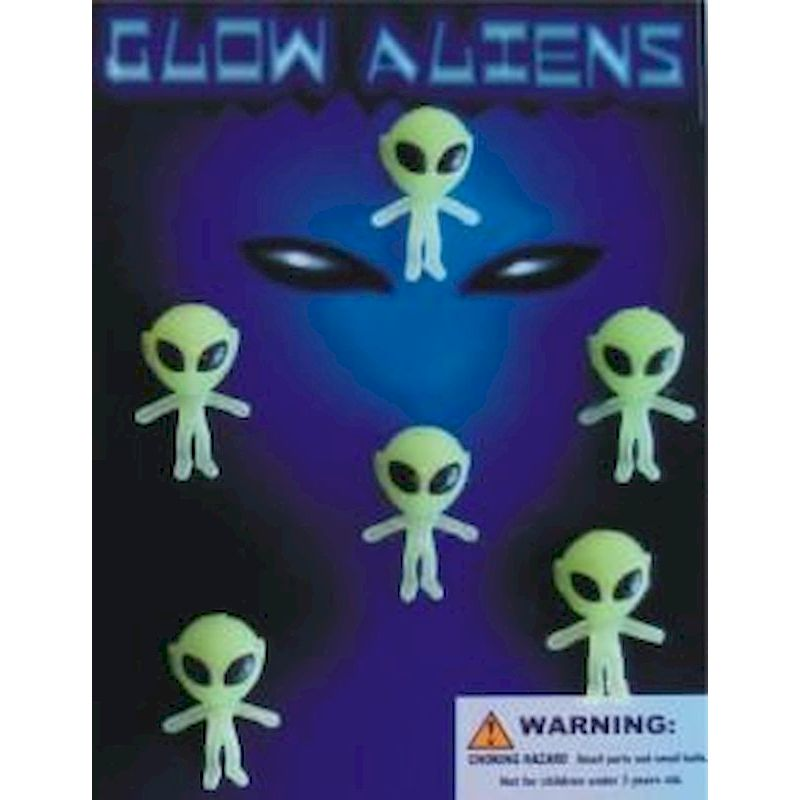 "GLALC1 - Glow Aliens Mix in 1.1"" Capsules (250 ct.)"