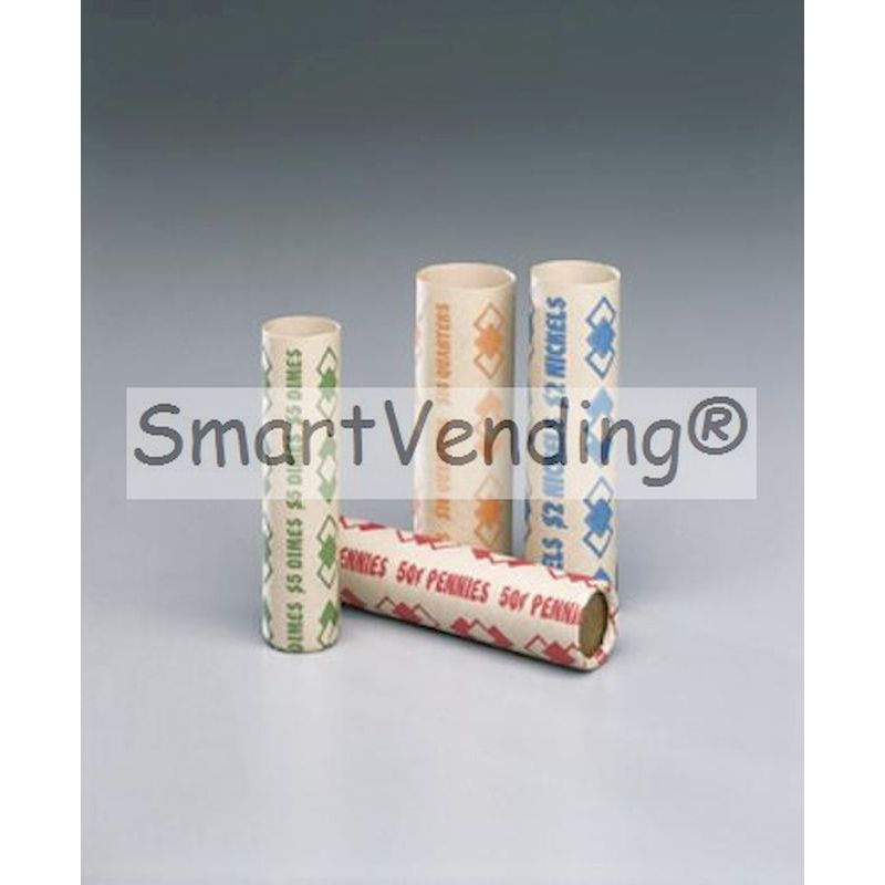 GS-25 - Preformed Quarter Coin Speed Wrappers (.25) 1,000 ct.