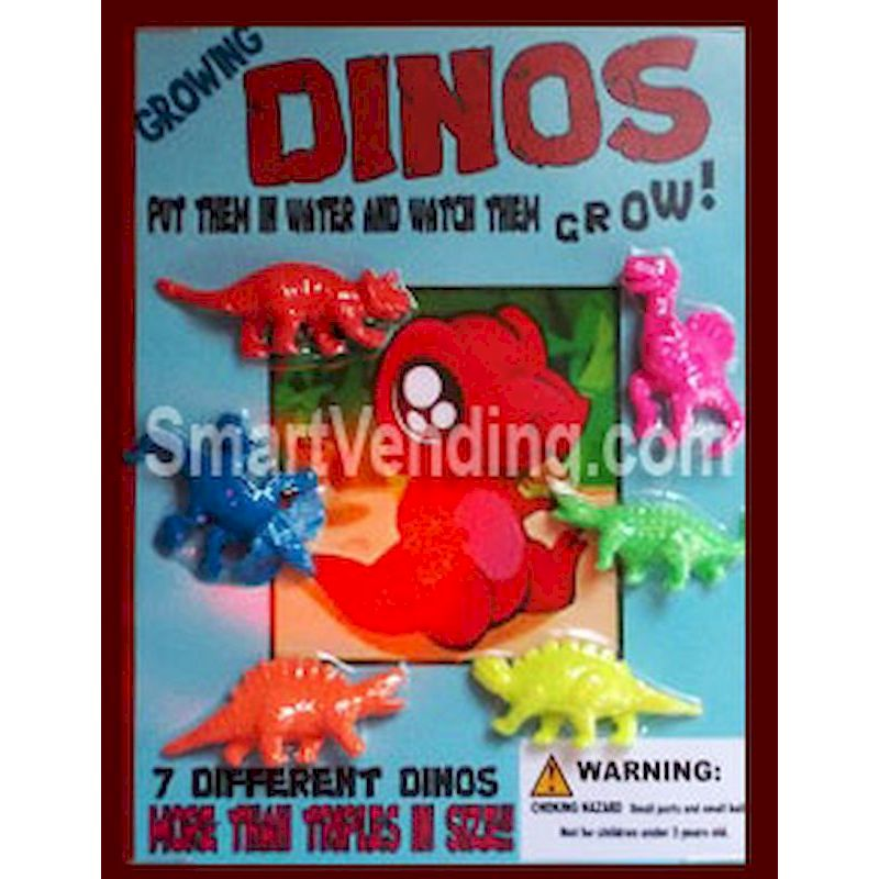 30-GRDIC1 - Growing Dinos in 1.1 inch Capsules (250 ct.)