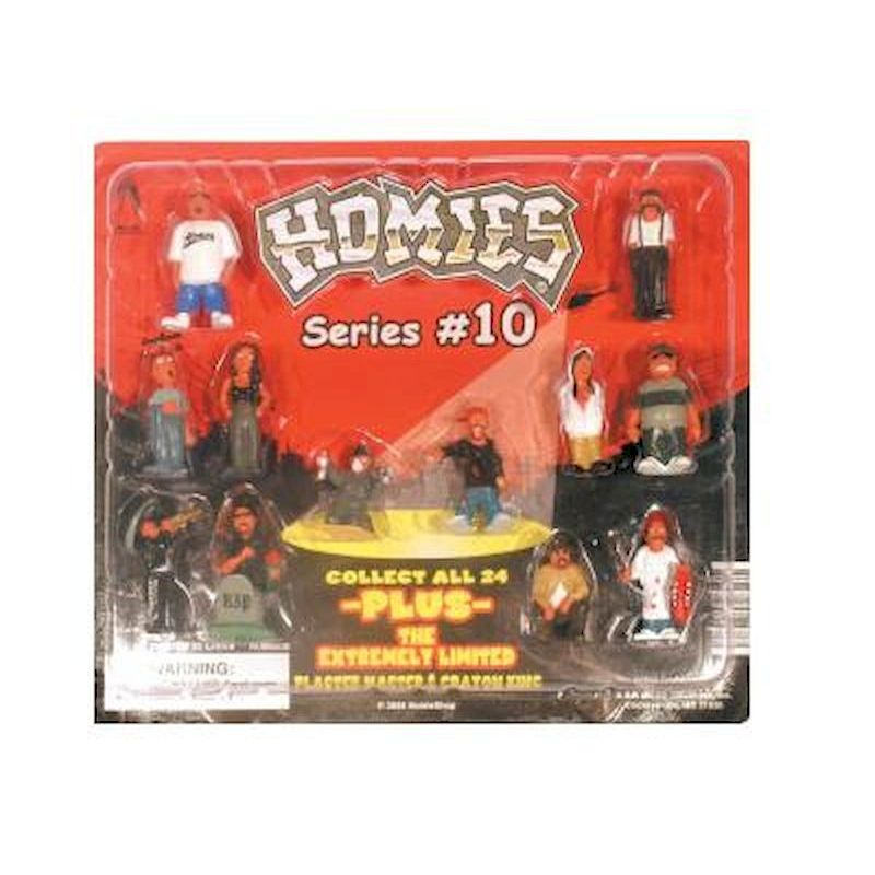 "HO10C2 - Homies Figurines #10 in 2"" Capsules (250 ct.)"