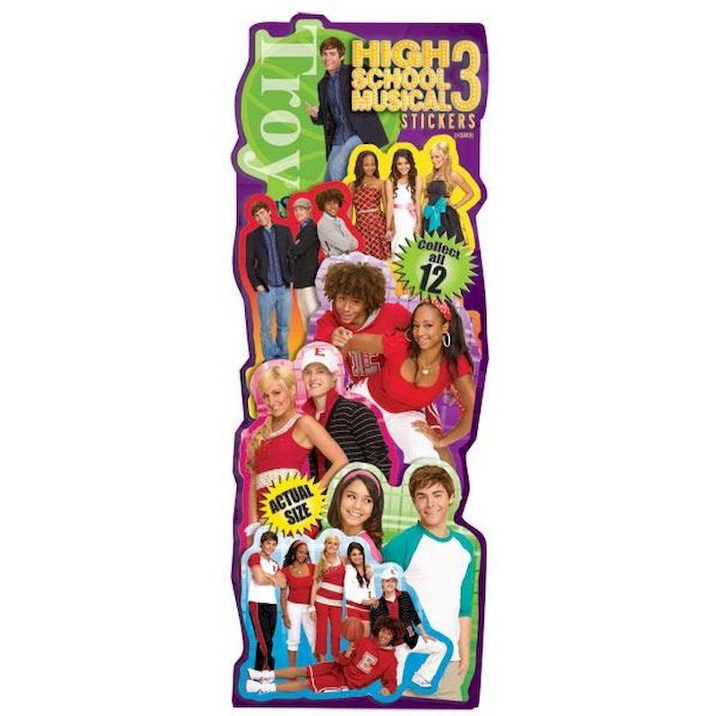 DHSMS3 - Display for High School Musical Stickers #3