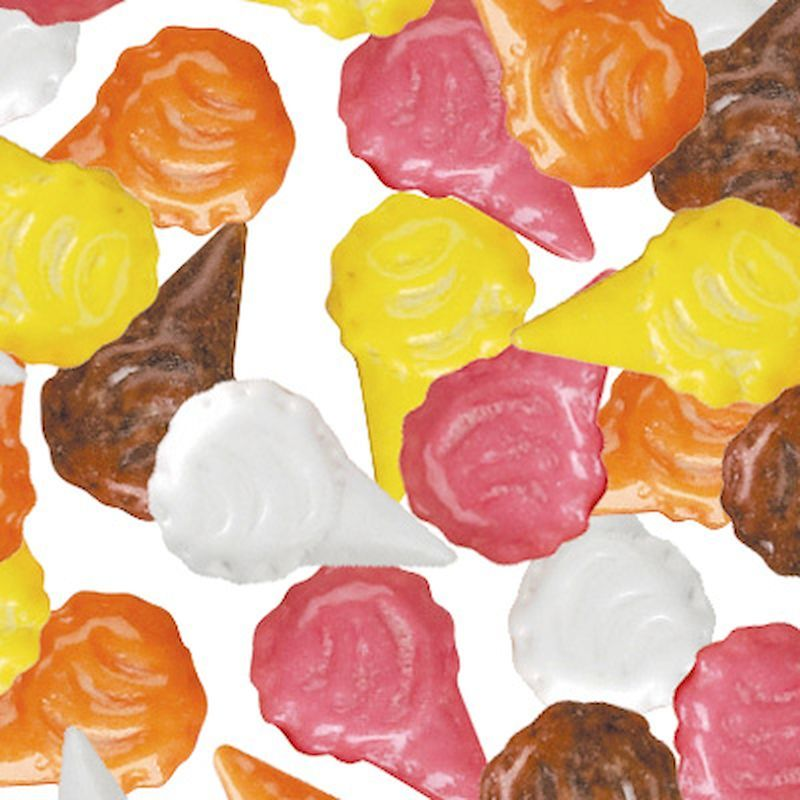 4299 - Ice Cream Cones Coated Candy (6,300 ct.) 15 lbs.