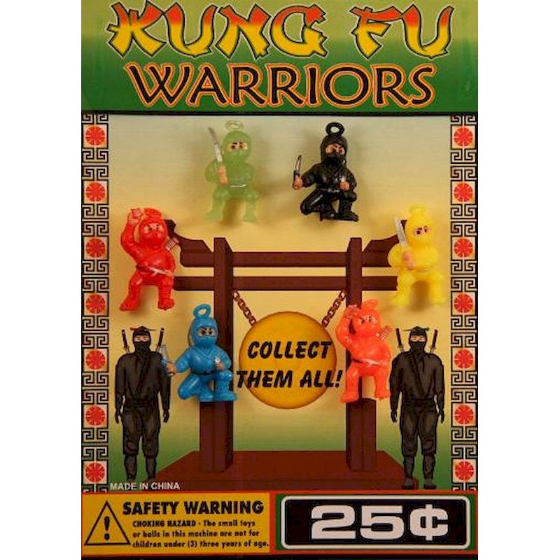 DKFNIC1 - Display for Kung Fu Ninja Figures
