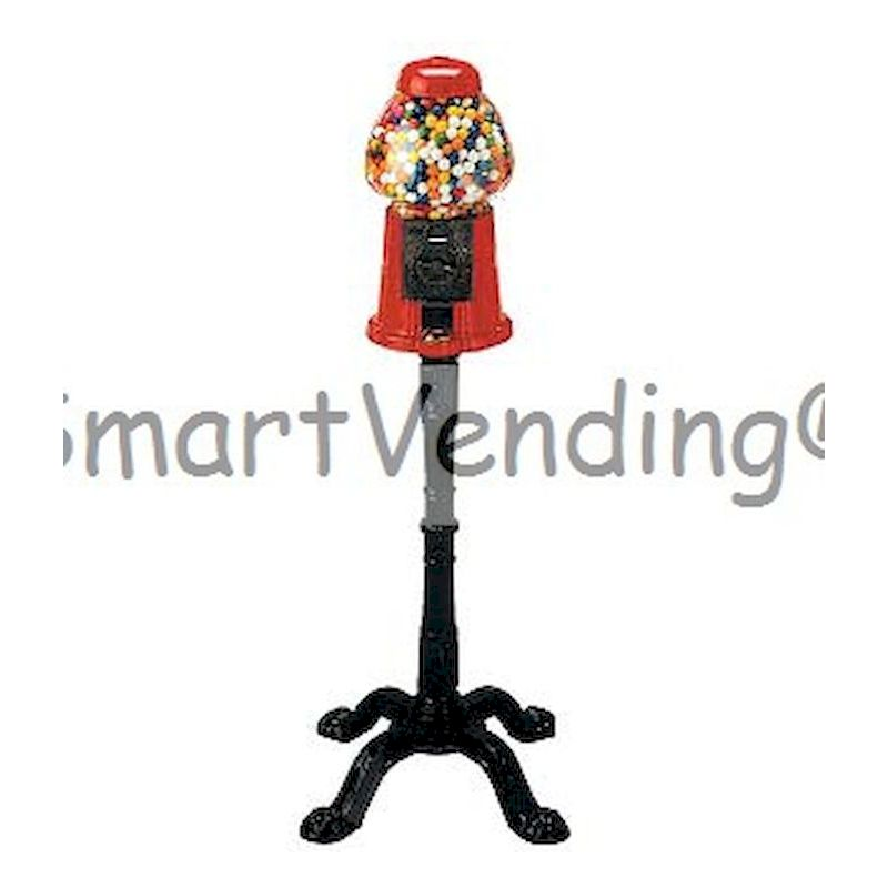 3006 - King Size NoveltyGumball  Machine Bank w/Stand