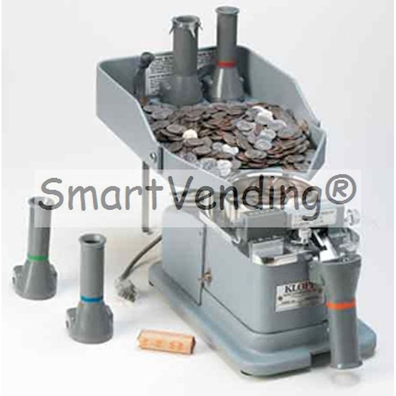 KLOPP-CE - KLOPP® Coin Counter Model CE (Electric Operation)