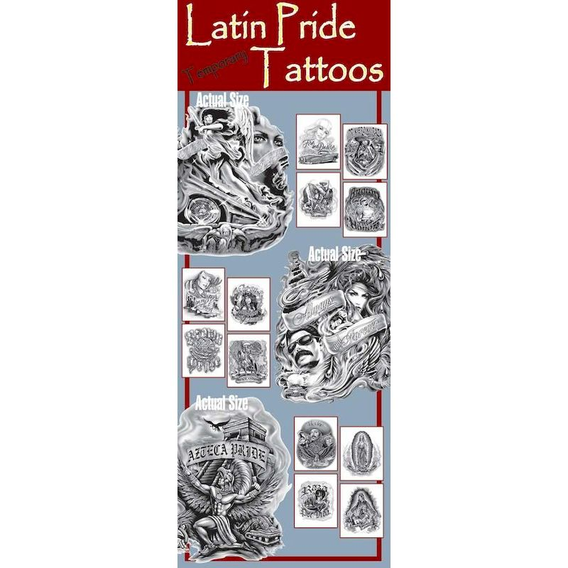 LPTA - Latin Pride Tattoos in Folders (300 ct.)