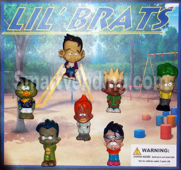 30-LBRTC2 - Lil' Brats Figures in 2 inch Capsules (250 ct.)