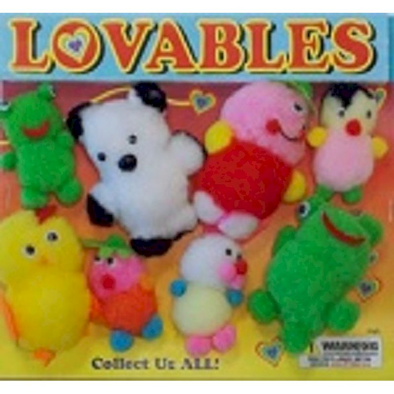 30-LVPLC2 - Lovable Plush in 2 inch Capsules (250 ct.)