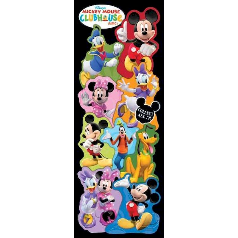 DMMST - Display for Mickey Mouse Clubhouse Stickers