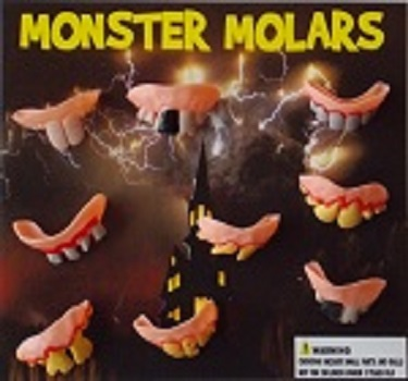 30-MMOLC2 - Monster Molars in 2 inch Capsules (250 ct.)