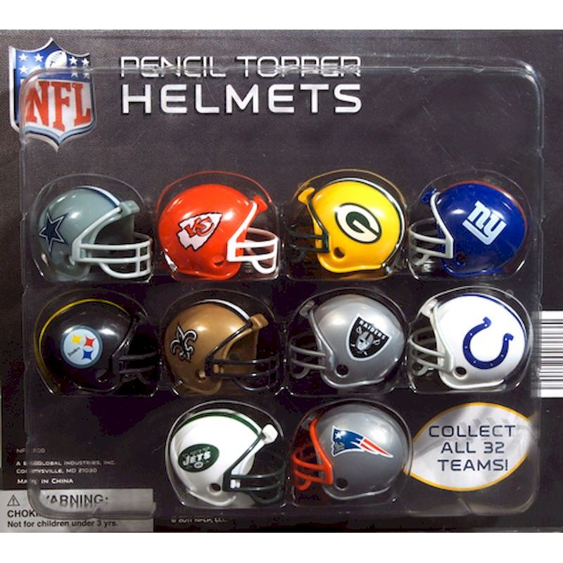 30-NFLHC2 - NFL Football Helmets in 2 inch Capsules (250 ct.)