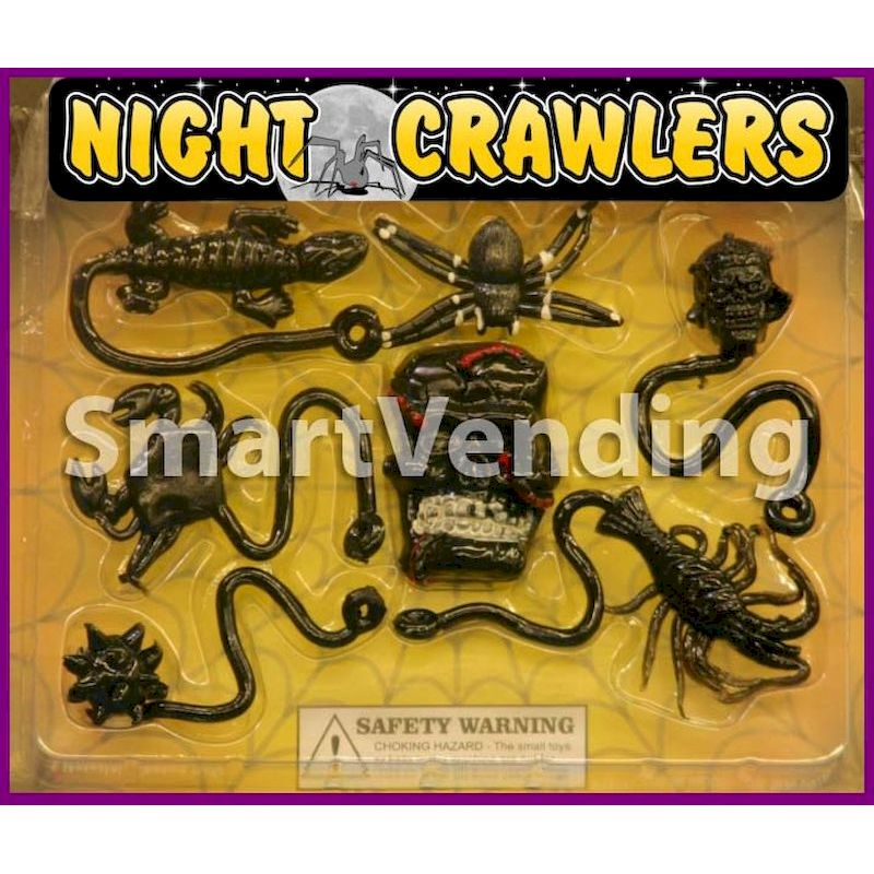 30-NICRSTC2 - Night Crawlers Large Sticky Mix in 2 inch Capsules (250 ct.)