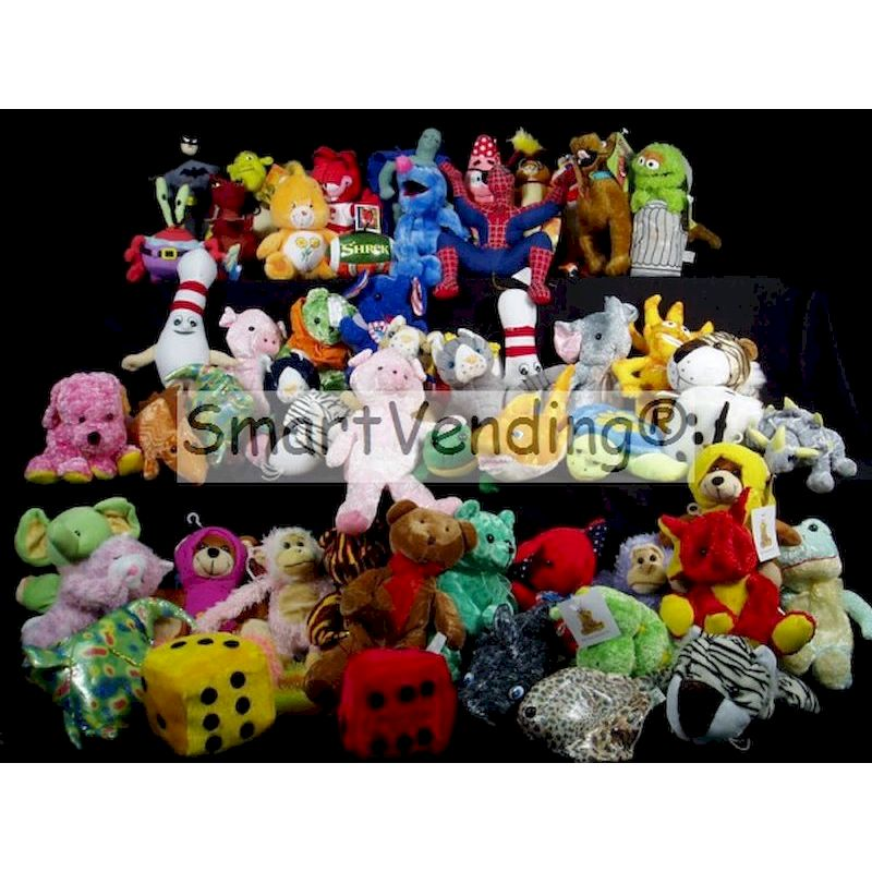 PLLIC7-11 - Crane 20% Licensed Pre-Pak Plush (7-11 Inch) 150 ct.