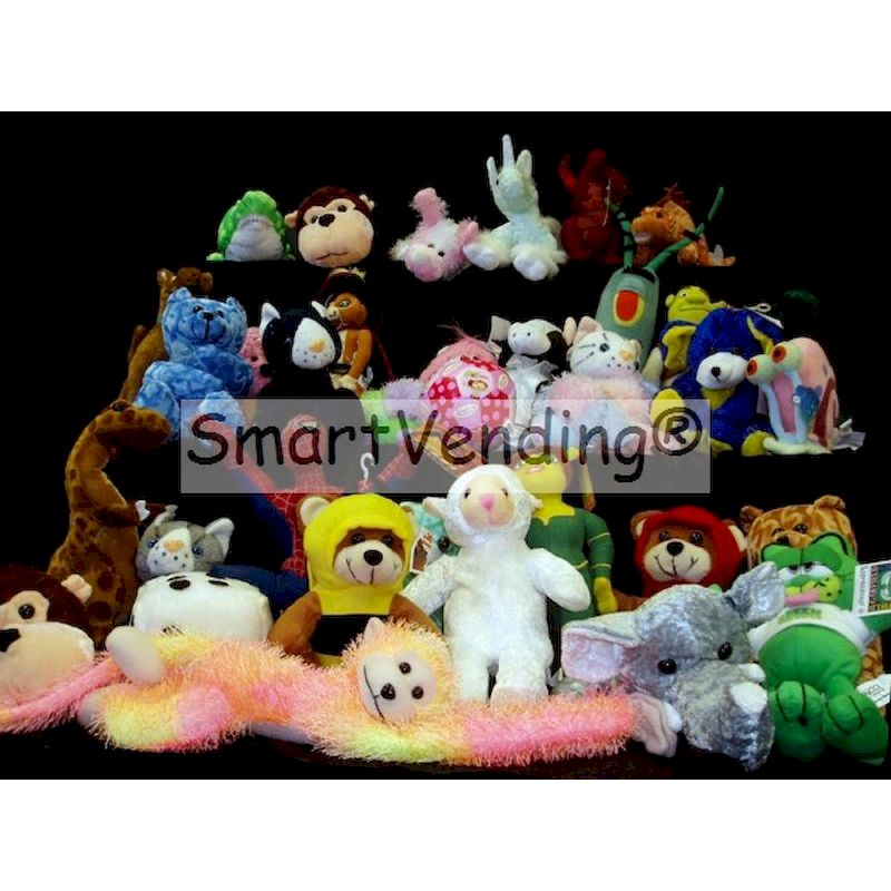 PLLICJ12-19 - Crane 20% Licensed Jumbo Mix Plush (12-19'') Avg. $2.80 Ea.
