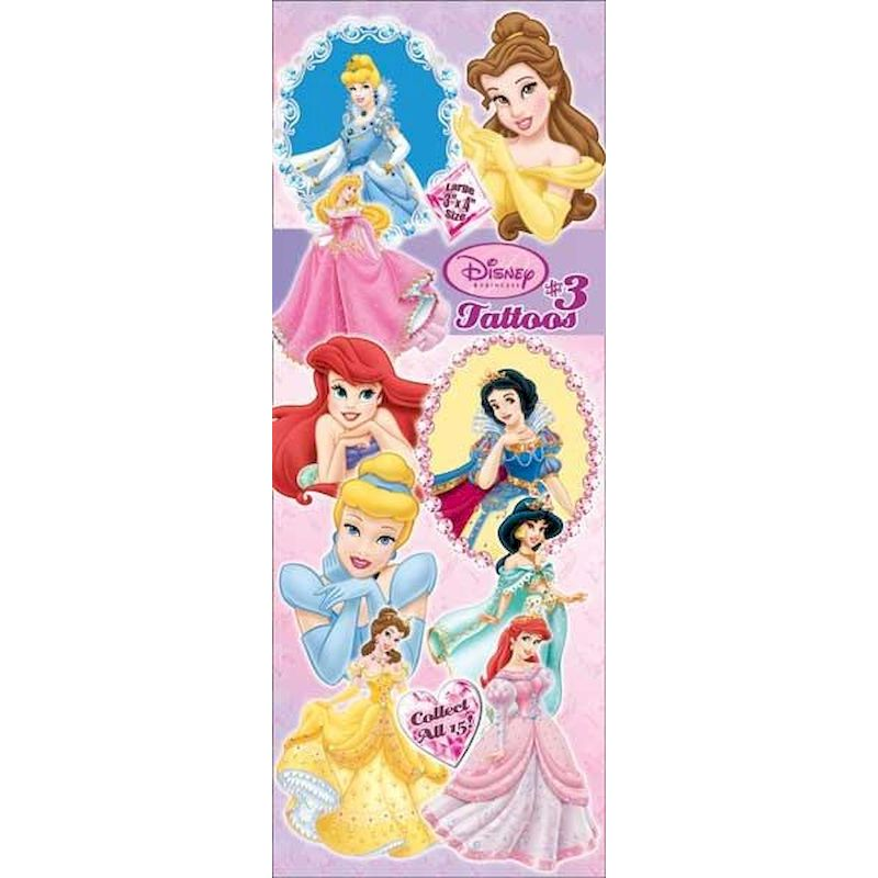DPRIT3 - Display for Disney Princesses Tattoos #3