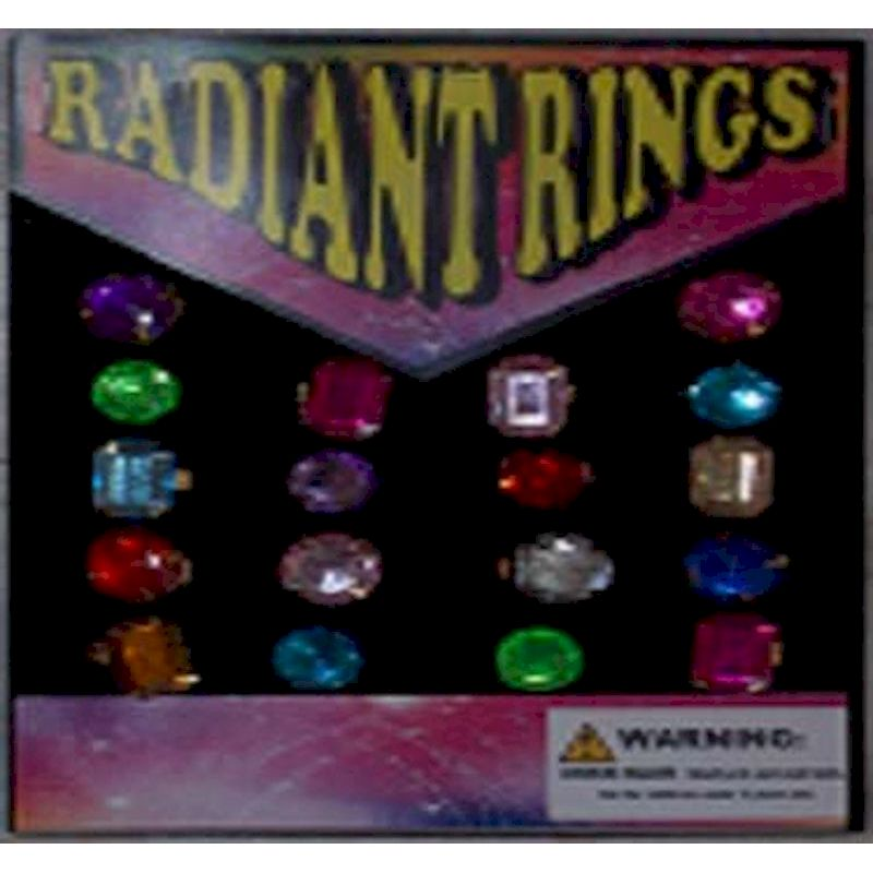 30-RADRGC1 - Radiant Rings in 1.1 inch Capsules (250 ct.)