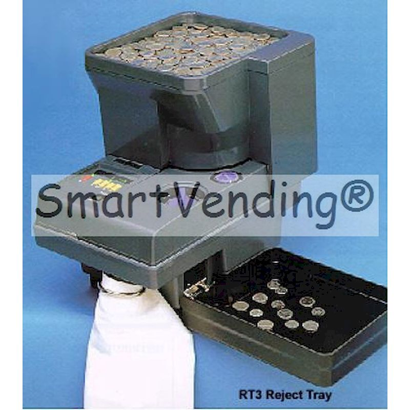 Scan Coin Counter/Sorter w/Autofeed Hopper Model 313