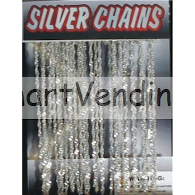 Silver Chain Necklacesin 1.1 inch Capsules (250 ct.)