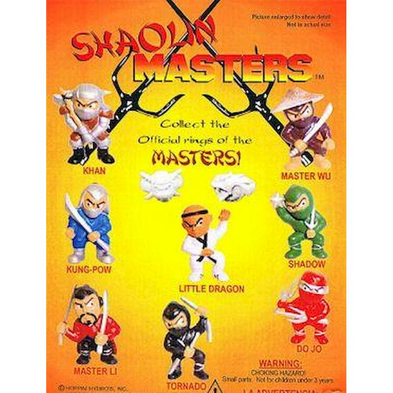DSHMAC1 - Live Display for Shaolin Masters Collectible Figurines
