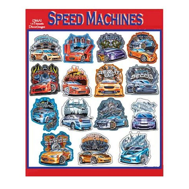 DSPMAS - Display for Speed Machine Stickers