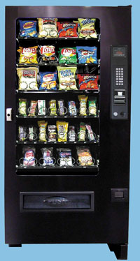 10-VC3000 - SmartVending 4-Wide Snack Machine