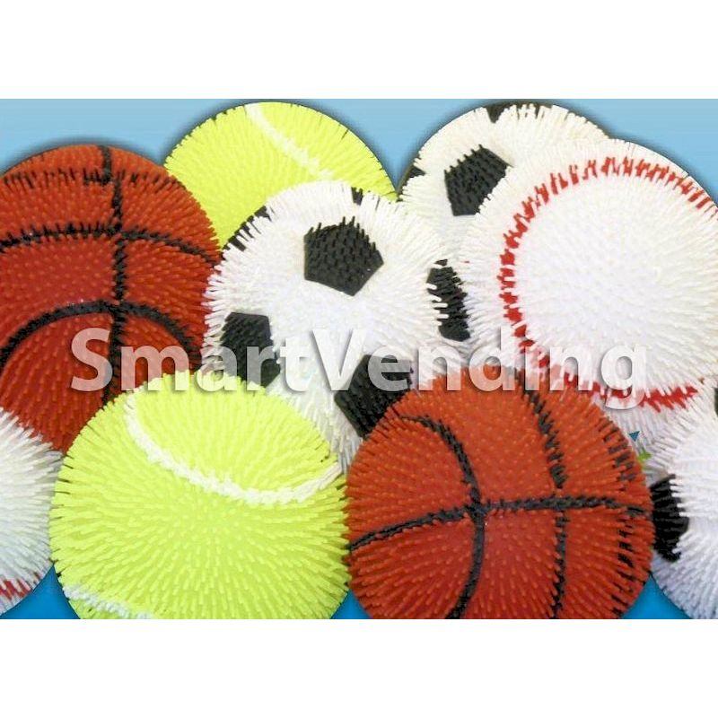 50-SPTPFBL-9 - Flashing Sports Puffer Ball 9 inch (36 ct.) ALL NEW PREMIUM ITEM!!!