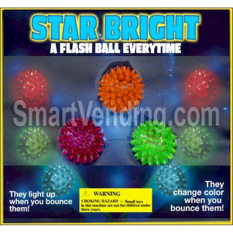 30-STBRC2 - Star Bright Flashing Balls 100% in 2 inch Capsules (250 ct.)
