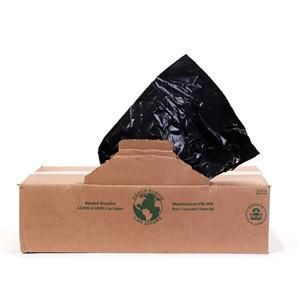 12-16 Gallon Trash Bags T Series BLACK 10/50 HD (500 ct.)