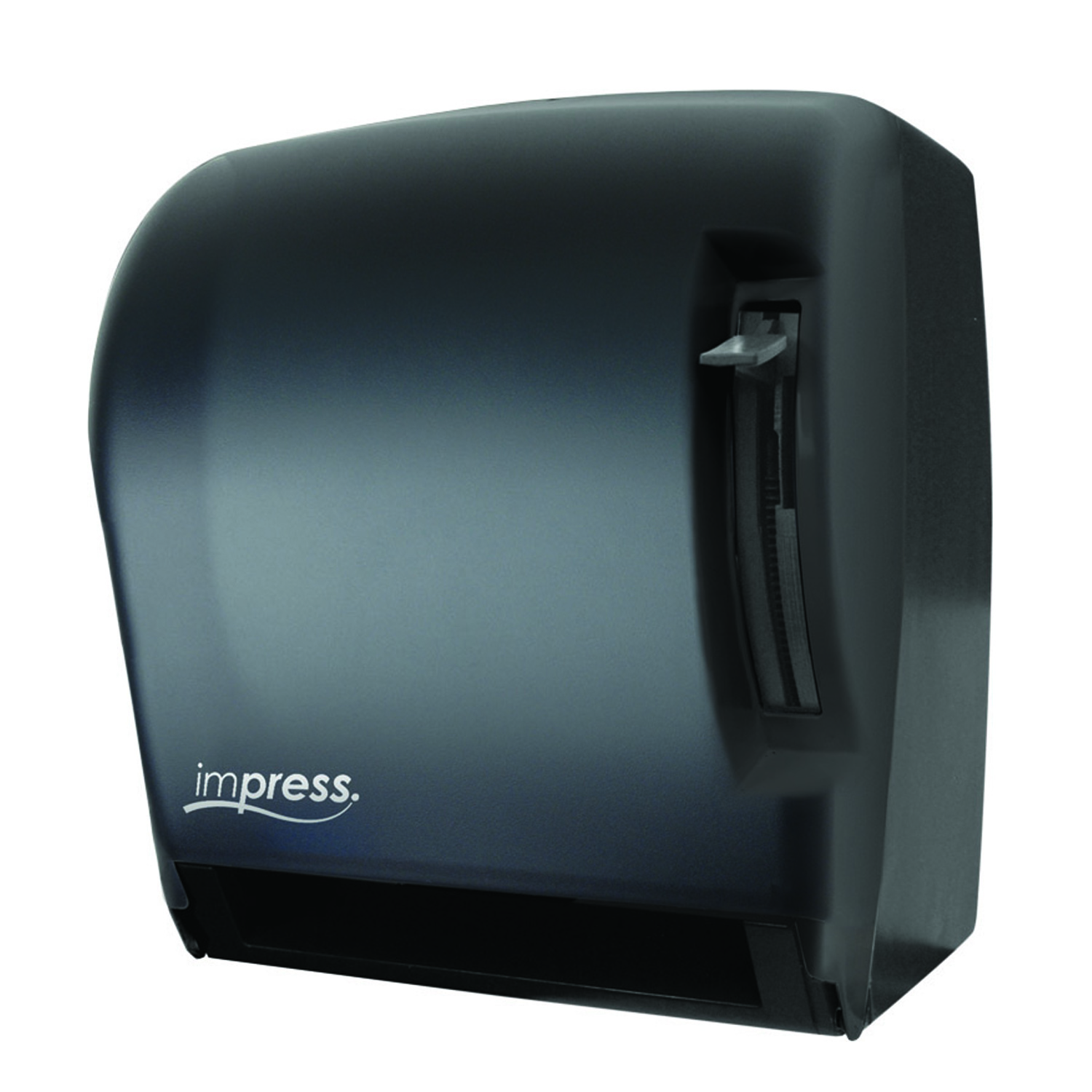 18-TD0220-02 - IMPRESS Lever Roll Towel Dispenser - Black Translucent