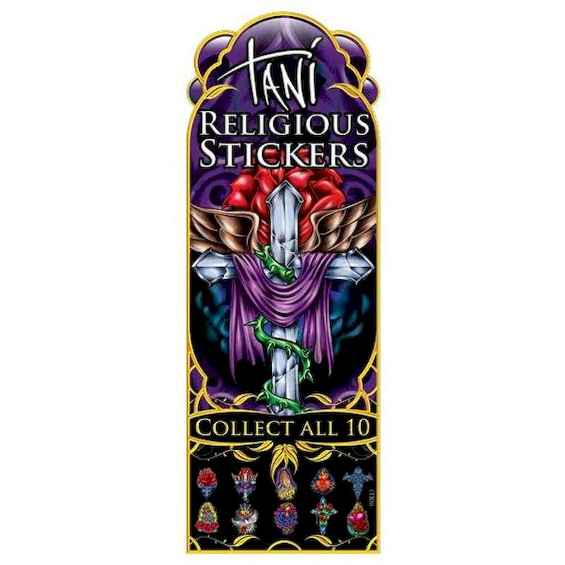 DTRST - Display for Tani Religious Stickers