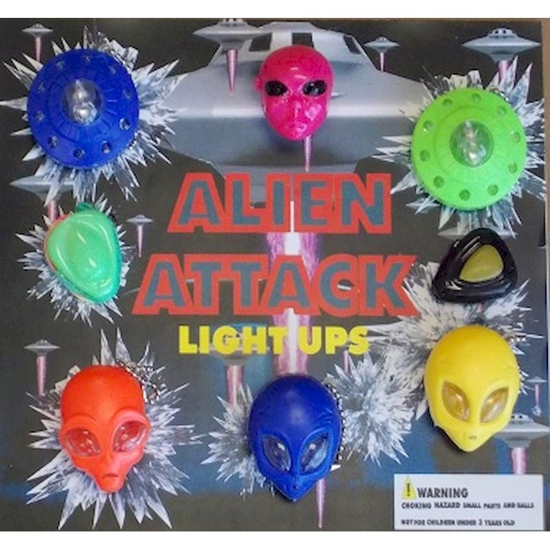 30-ALATC2 - Alien Attack Light Ups in 2 inch Capsules (250 ct.)